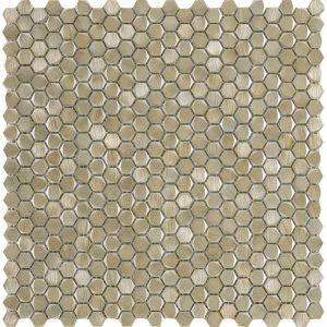 100240888 L244008671 GRAVITY ALUMINIUM HEXAGON GOLD 30.7X30.4
