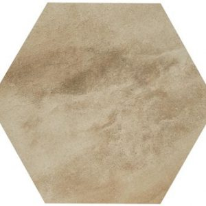 RAK Country Brick Beige Hexagon