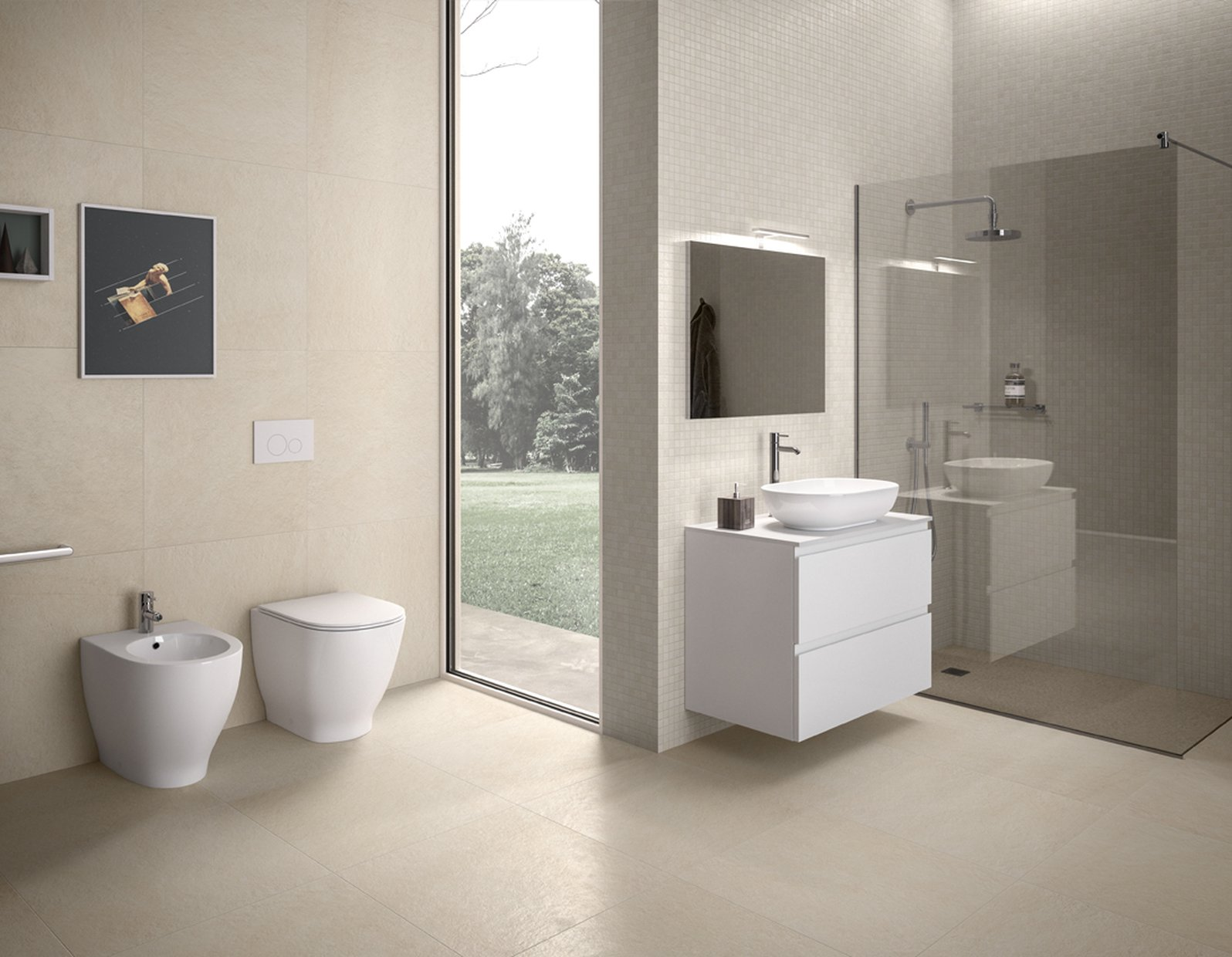 Rak Moon Rimless Back To Wall Cc Wc Pack With Soft Close