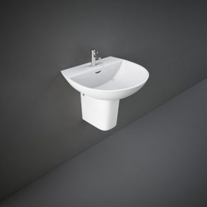 RAK Reserva 55cm basin with half ped