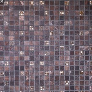 RAK Saran Brown mosaic