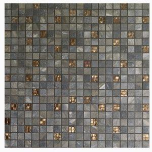 RAK Saran grey mosaic