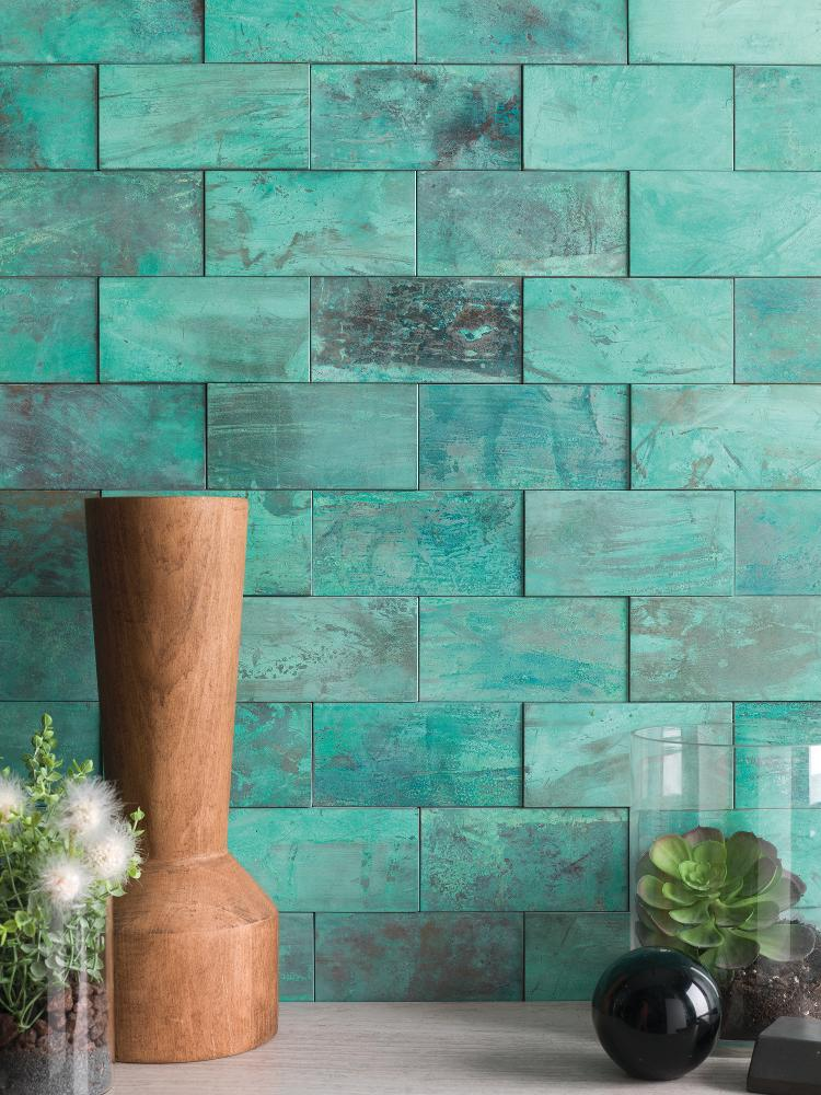Porcelanosa – Worn Verdigris Mosaic – 100213744 – The Cornwall Tile