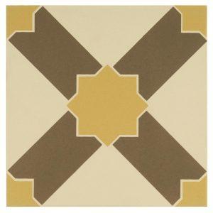 alhambra summer yellow 151x151mm