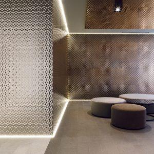 artis bronze wall tiles