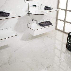 bianco carrara floor tiles