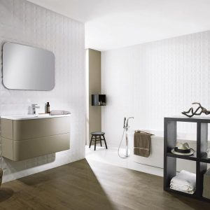 diamond white tiles