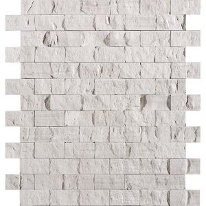 100119813 L241709051 ELITE BRICK SILVER WOOD (2.6X4.8) 30X30