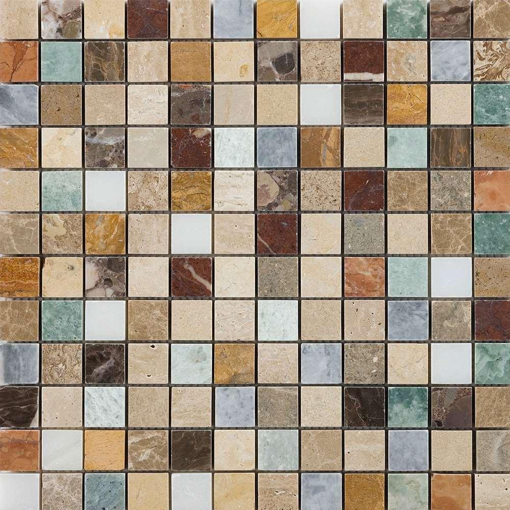 Marshalls Tile Stone Harlequin Mosaic 305mm X 305mm Gp7220010 The Cornwall Tile Company