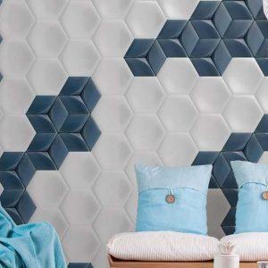 hudson white matt wall