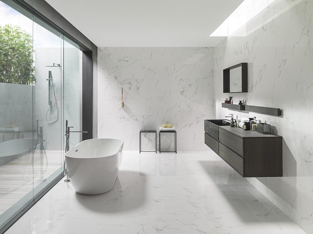 Porcelanosa Marmol Carrara Blanco 45x120cm 100190191
