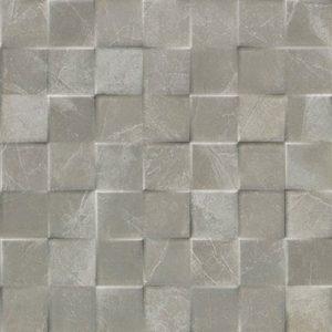 mosaico marmol gris