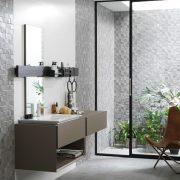 mosaico rodano silver 31.6x90