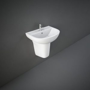 rak compact 45cm basin with half ped