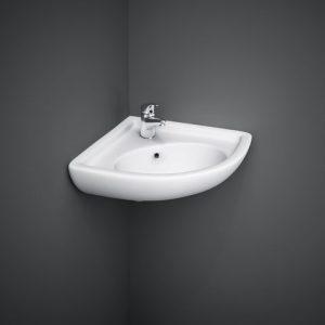 rak compact corner basin