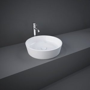 rak moon round table top basin