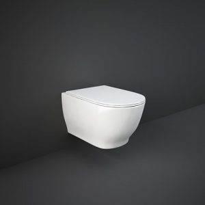 rak moon wall hung pan rimless