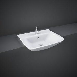 rak origin semi recessed basin