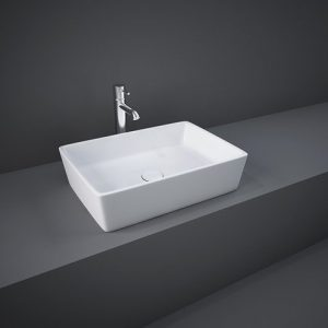 rak rectangle table top basin