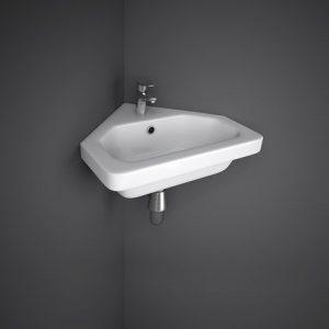rak resort 45cm corner basin