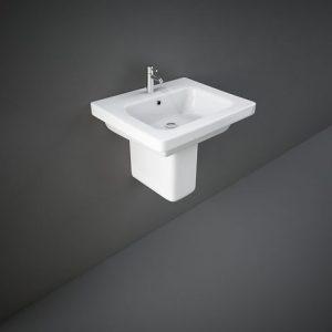 rak resort 55cm basin half ped