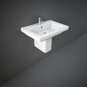 rak resort 65cm basin half ped