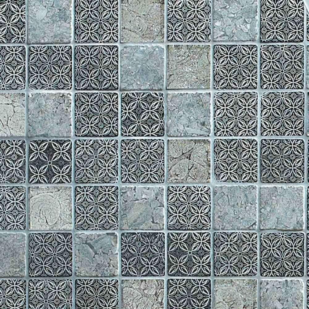 Marshalls Tile & Stone Tokyo Mosaic- 300mm x 300mm GP7581010 – The ...