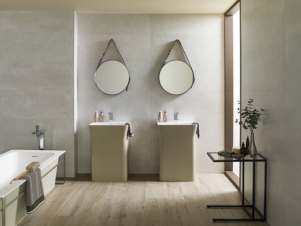 Seaton ceramic tiles ca39 pietra bathroom t - Laura ashley sevilla ...