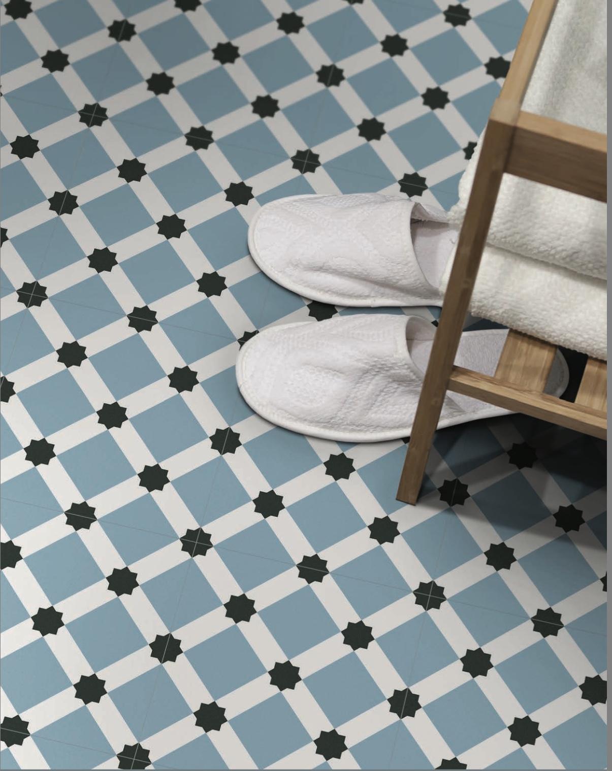Waxman Ceramics Barcelona – Night Decor 250mm x 250mm x 8mm – The ...