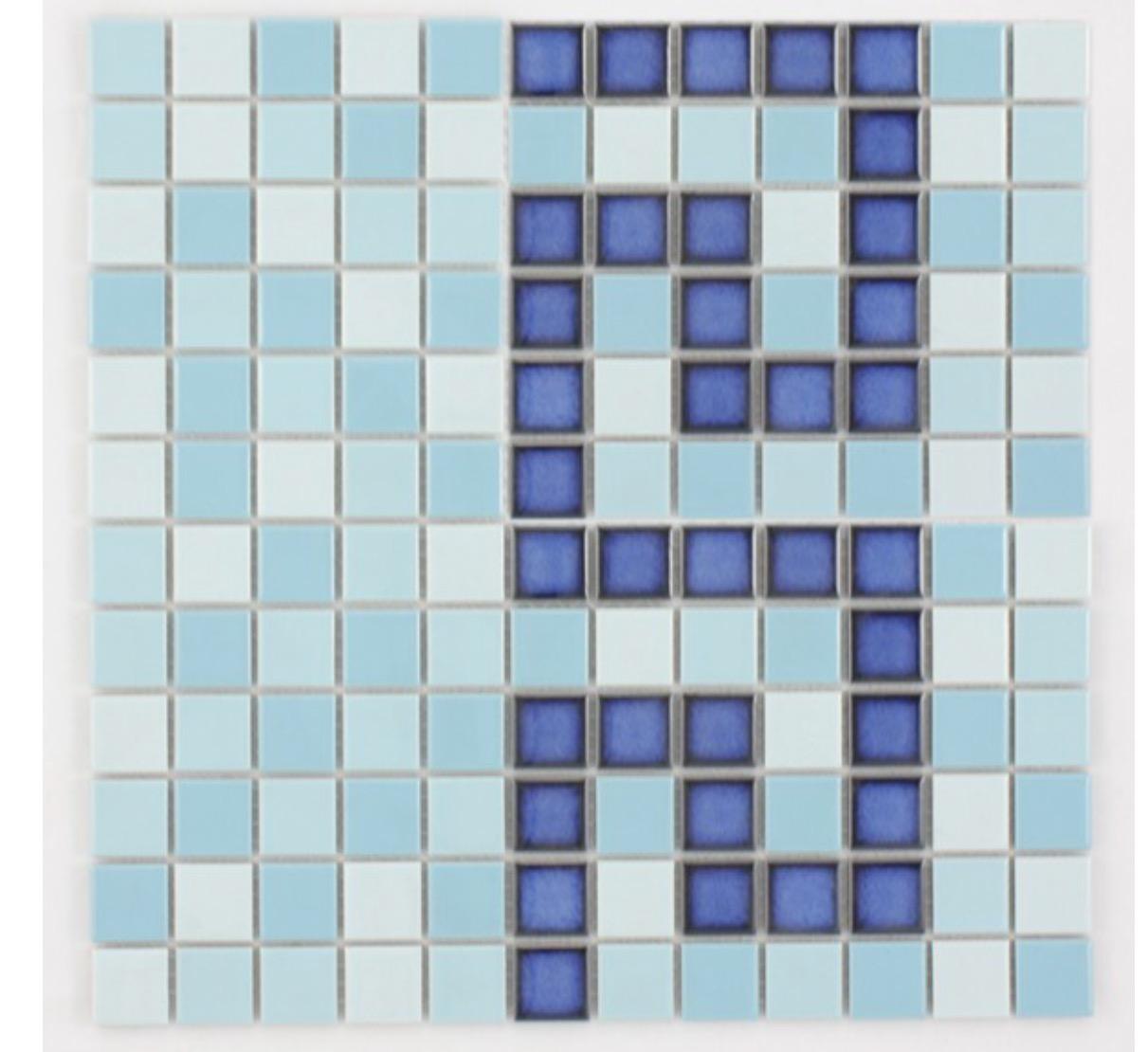 Waxman Ceramics Ceramic Pool Mediterranean Key Cb 448 300mm X