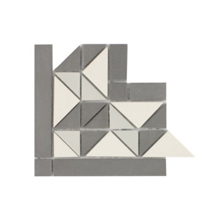 Waxman Ceramics Geo Mosaic – Cambridge Corner GEO-453 157mm x 157mm