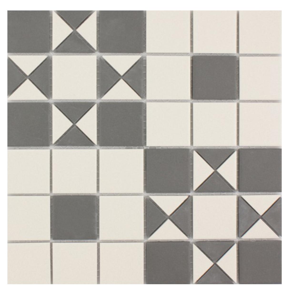 Waxman Ceramics Geo Mosaic Brighton Pattern Geo 351 288mm X 288mm