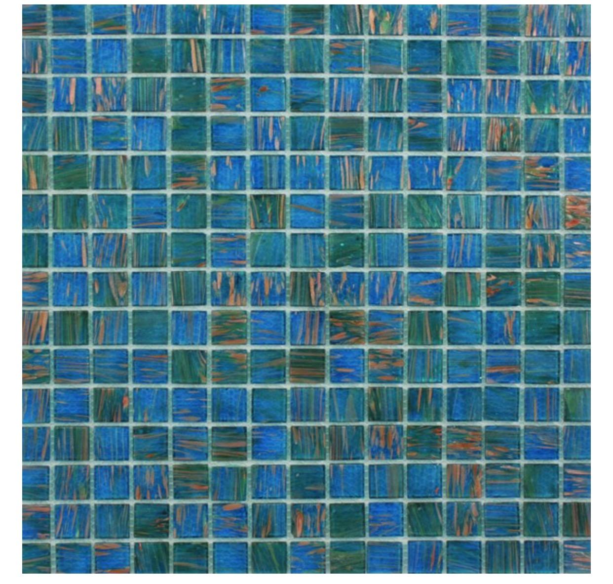 Waxman Ceramics Jewel Mosaic – Amazonite GL-075 327mm x 327mm – The ...