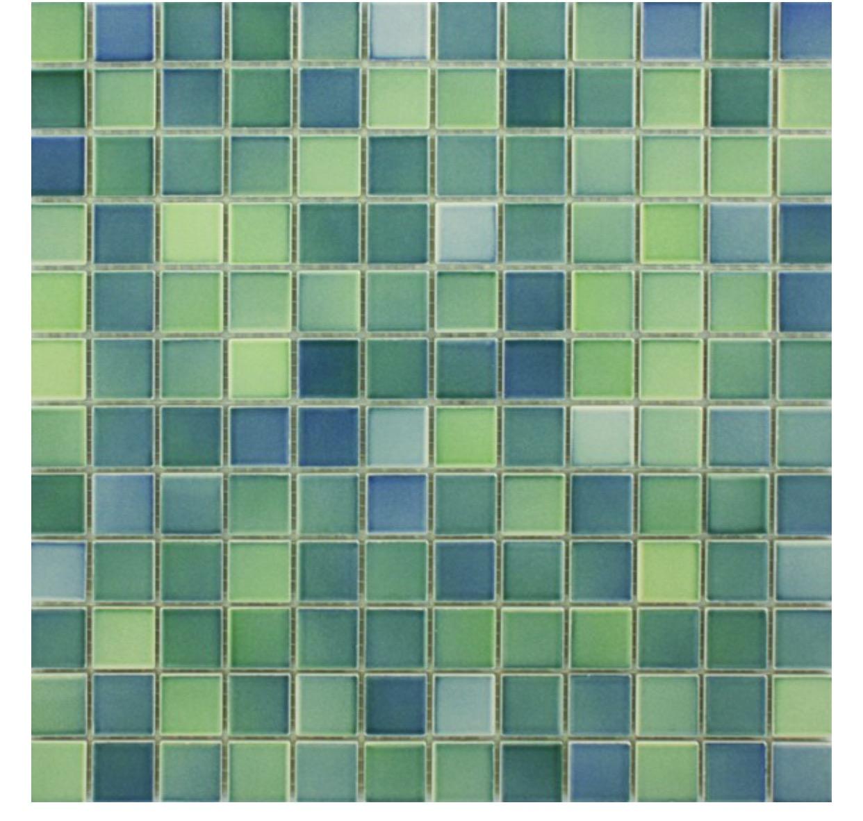 Waxman Ceramics Landscape Mosaic – Forest Mix-1 297mm x 297mm – The ...