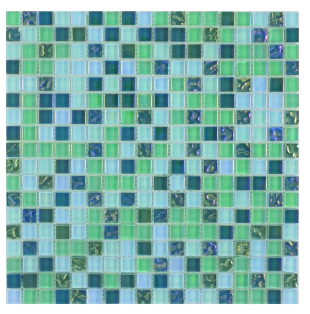 Waxman Ceramics Lustrous Green Mix Mlg 1504 295mm X 295mm The