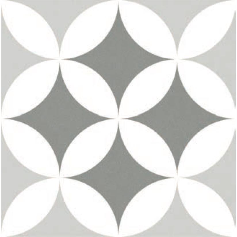 Waxman Ceramics Barcelona Triumph Decor 250mm X 250mm X 8mm The